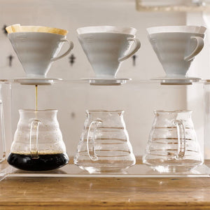 V60 Plastic Coffee Dripper- RED, 01