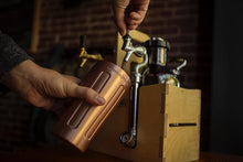 Load image into Gallery viewer, UPint Vacuum Insulated Pint for Craft Beer, Copper Plated