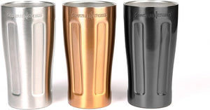 UPint Vacuum Insulated Pint for Craft Beer, Stainless Steel