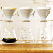 Load image into Gallery viewer, V60 Plastic Coffee Dripper White, 02