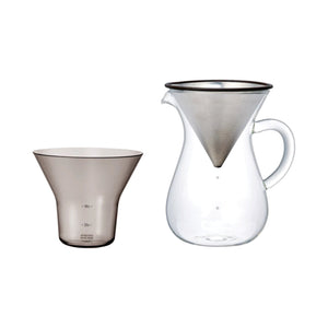 SCS-04-CC-ST Coffee Carafe Set (600ml) SS Filter