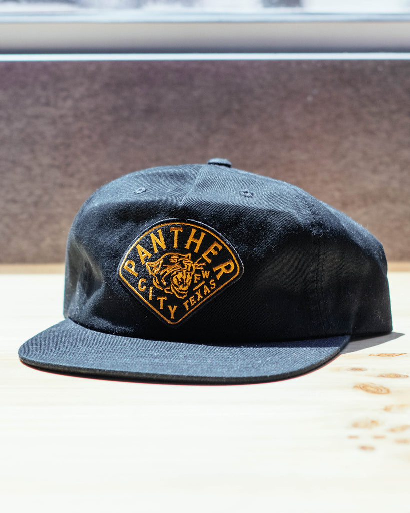 Panther City Provisions Diamond Patch Strapback Hat
