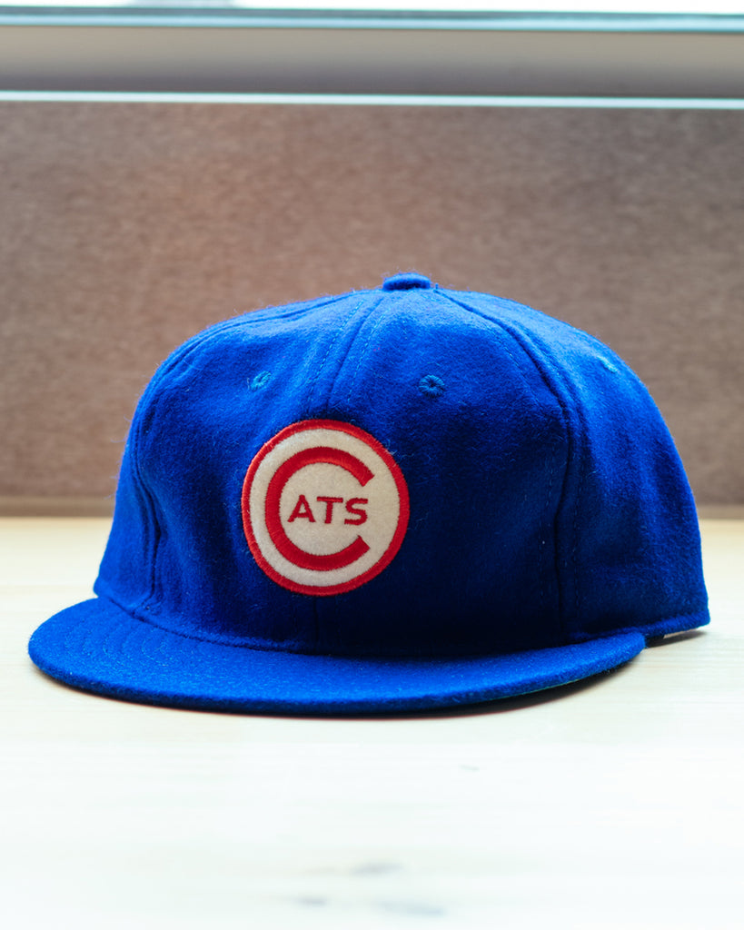 Ebbets Field Fort Worth Cats 1959 Strapback Hat