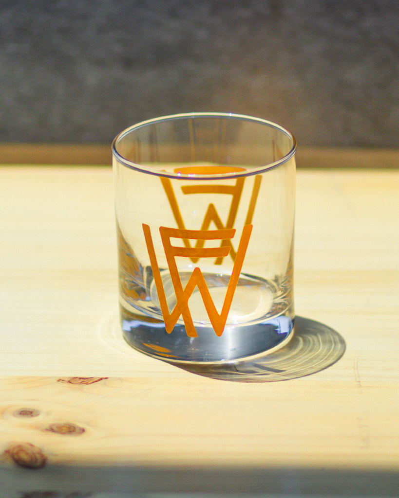 Old Fashion Glass - FW Monogram