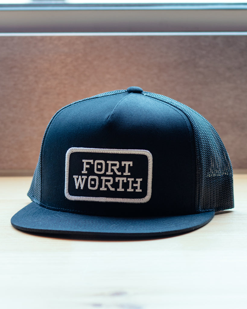 Fort Worth Patch Meshback Trucker Hat