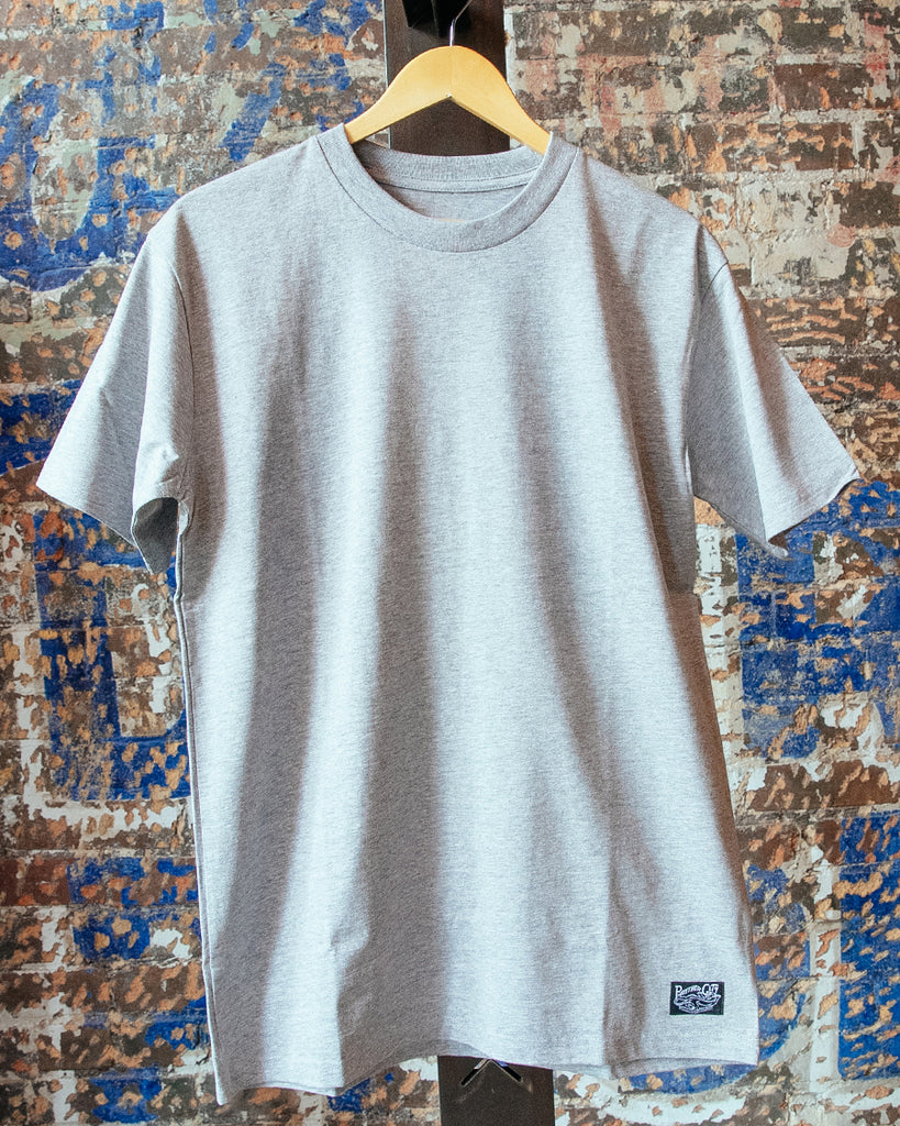 Heavyweight Tee - Heather Grey