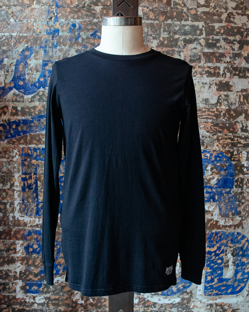 Heavyweight Long Sleeve Tee - Black