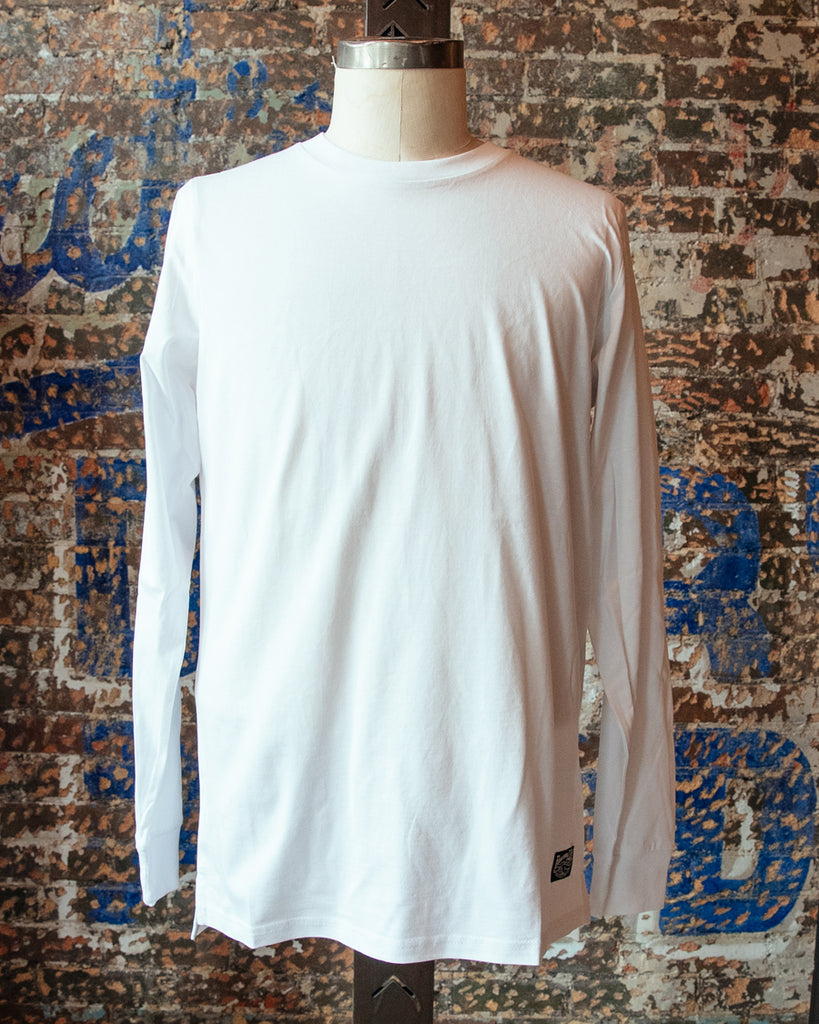 Heavyweight Long Sleeve Tee - White