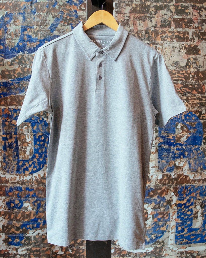 Heavyweight Polo - Grey