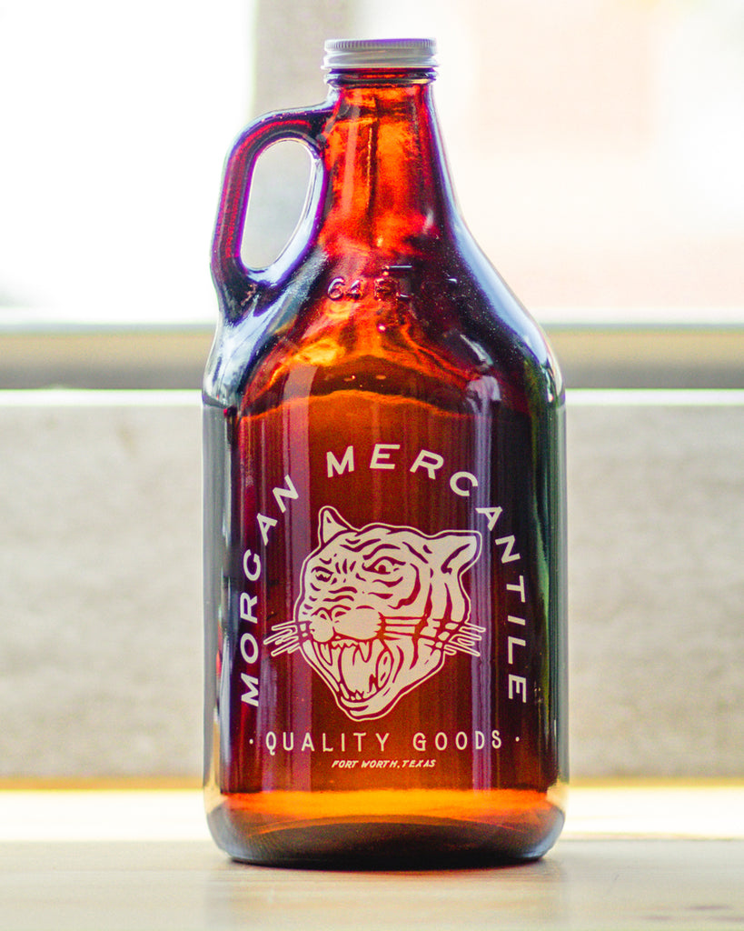 Morgan Mercantile Amber Growler