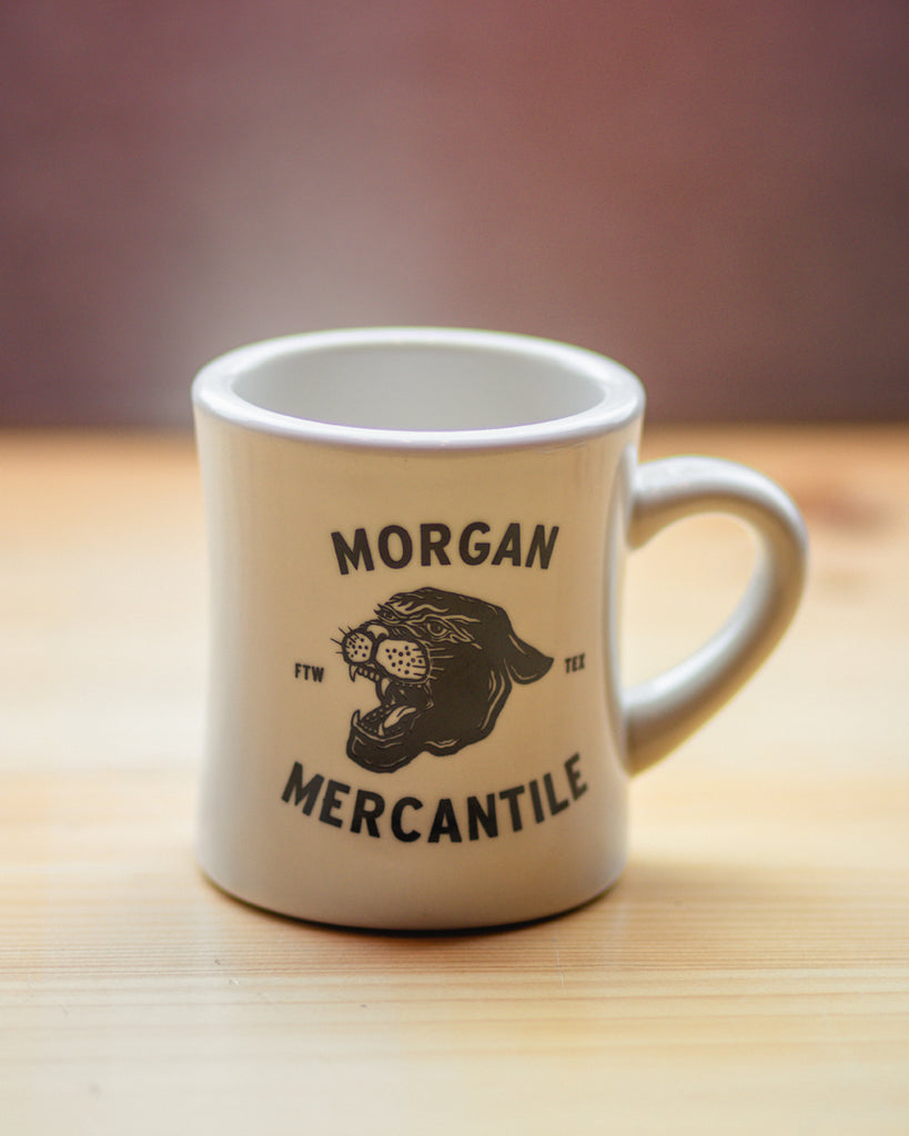 Morgan Mercantile Panther Diner Mug