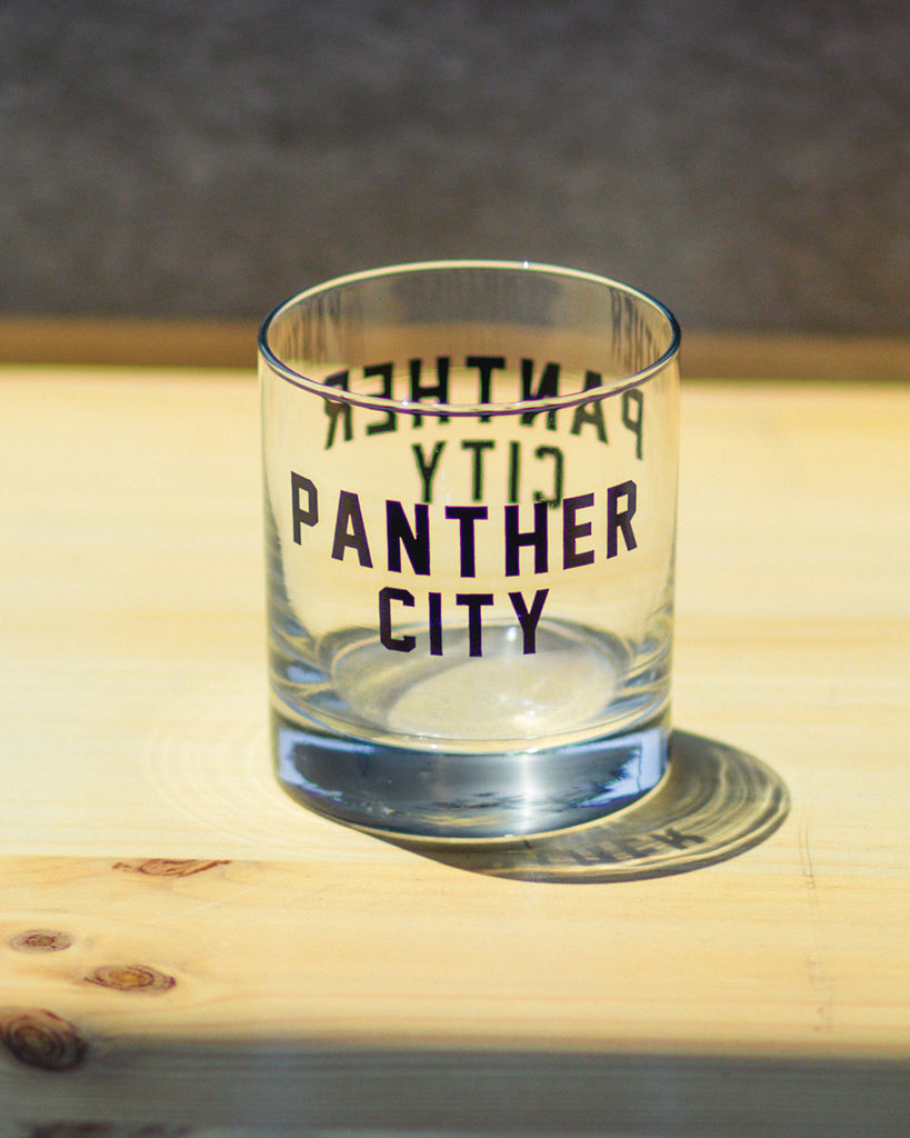 Old Fashion Glass - Panther City