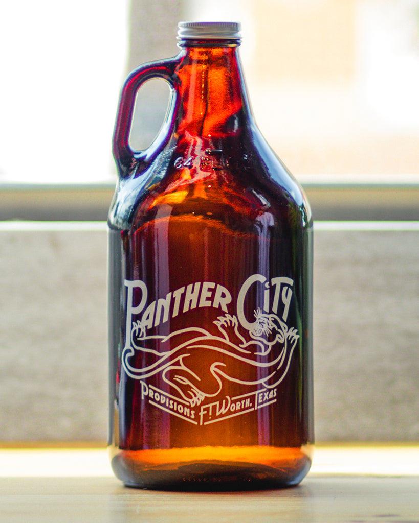 Panther City Provisions Growler