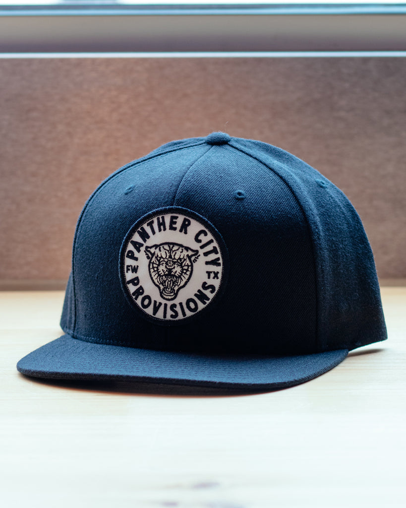 Panther City Provisions Badge Patch Snapback Hat