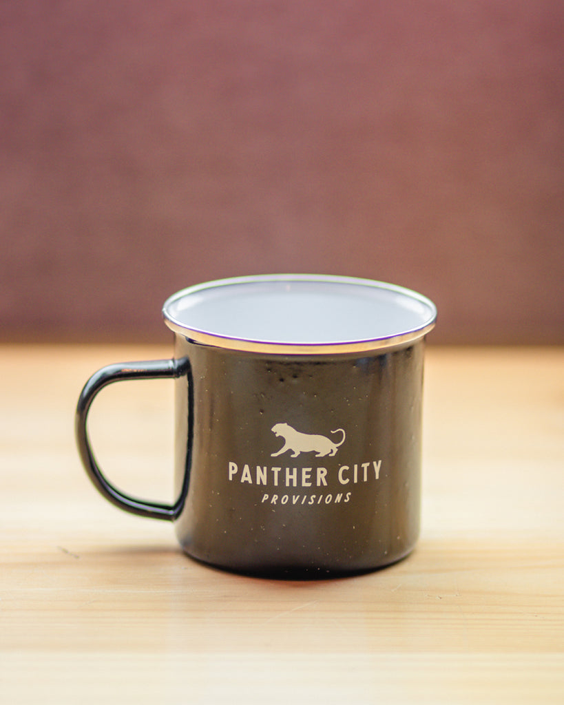 Panther City Provisions Camp Mug - Black