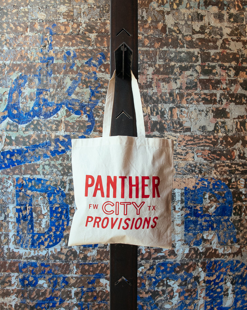 Panther City Provisions FW TX Tote Bag