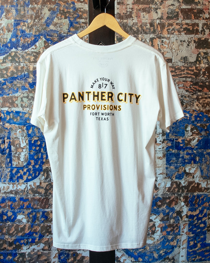 Panther City Provisions Fort Worth Texas Tee