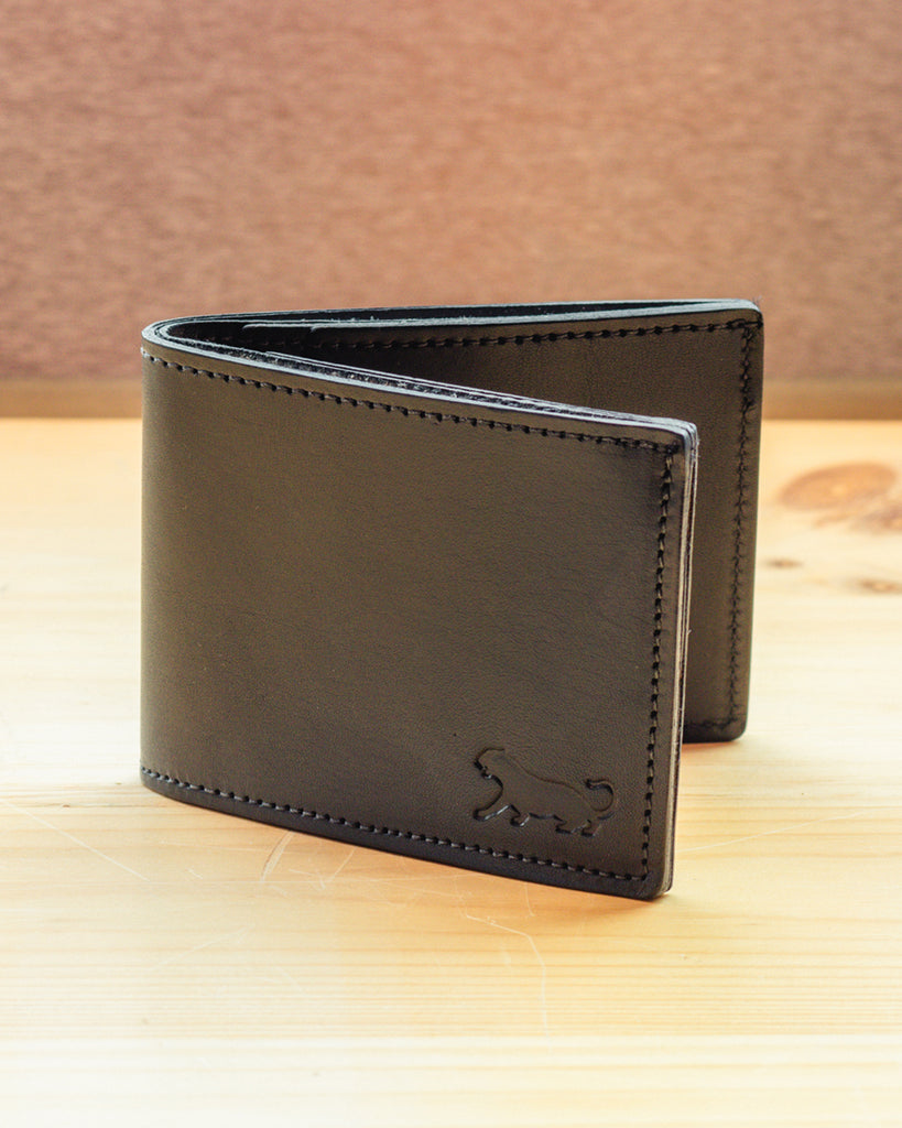 Panther City Provisions Bi-Fold Wallet - Black