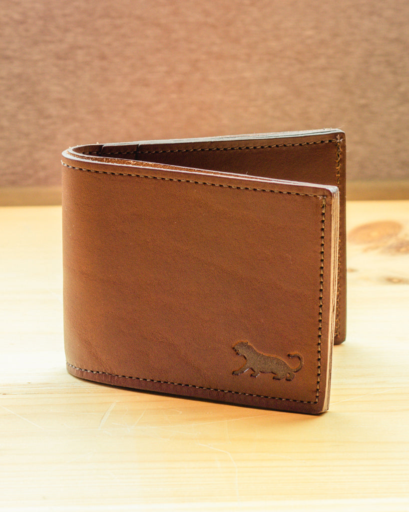 Panther City Provisions Bi-Fold Wallet - Dark Brown