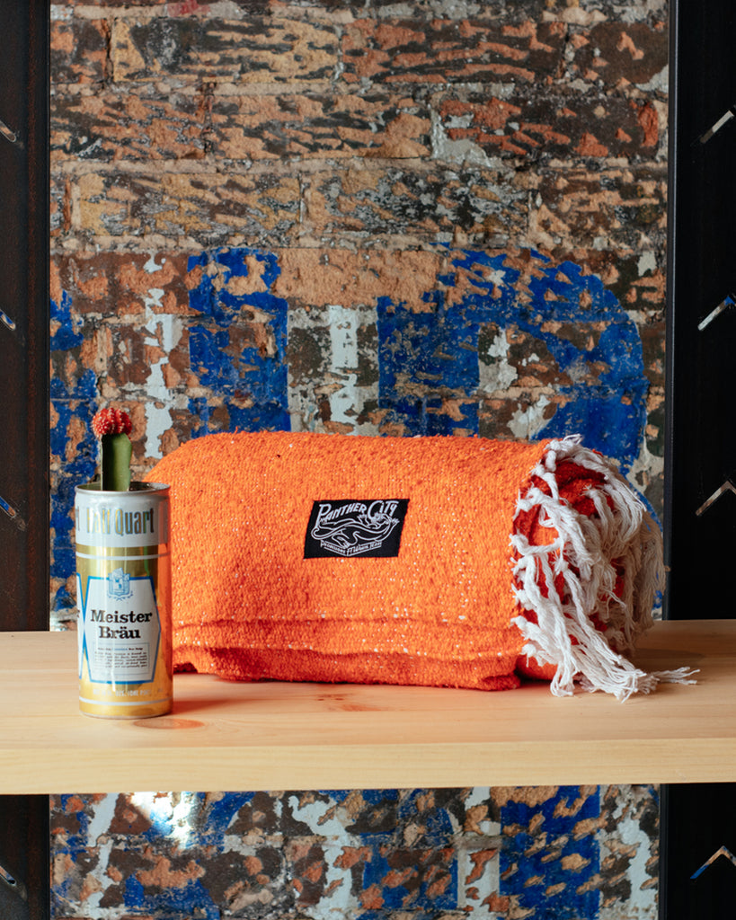 Panther City Provisions Mexican Blanket - Sunset