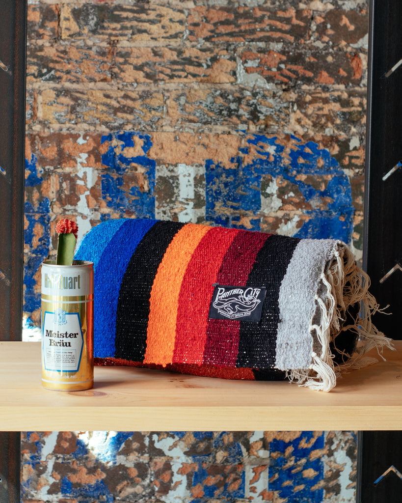 Panther City Provisions Mexican Blanket - Mountain Stripe