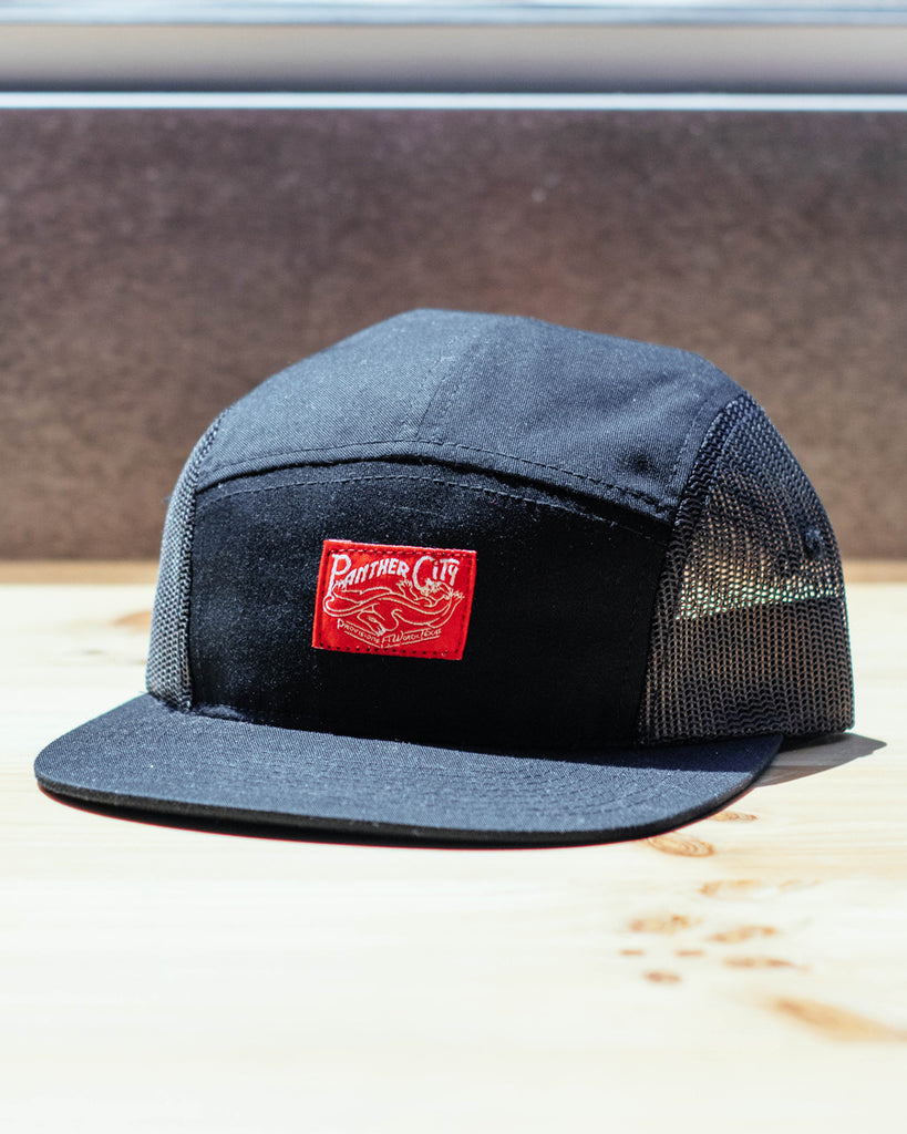 Panther City Provisions Mesh 5 Panel Hat