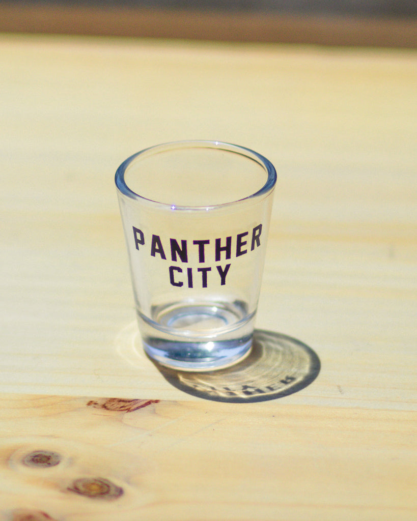 Panther City Shot Glass