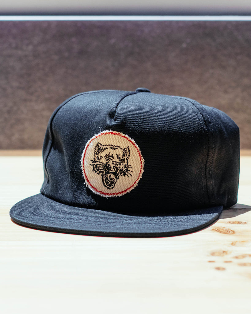 Roaring Panther Canvas Patch Snapback Hat