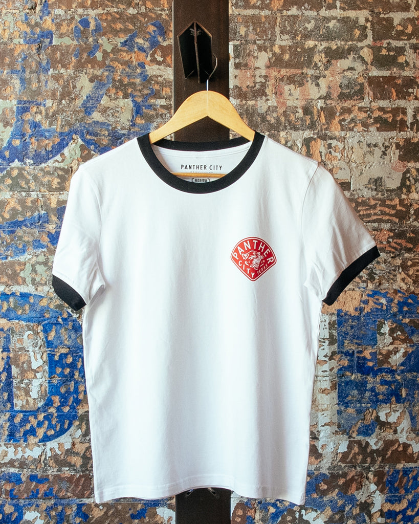 Panther City Provisions Diamond Ringer Tee