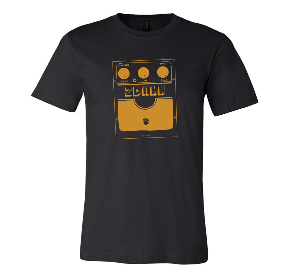 Brandy Zdan - Zdamn Fuzz Tee - Yellow