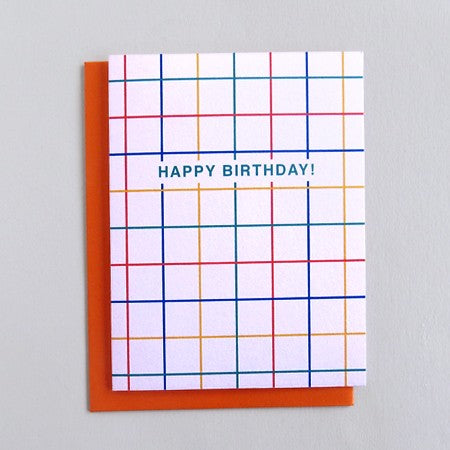 Birthday Grid Card