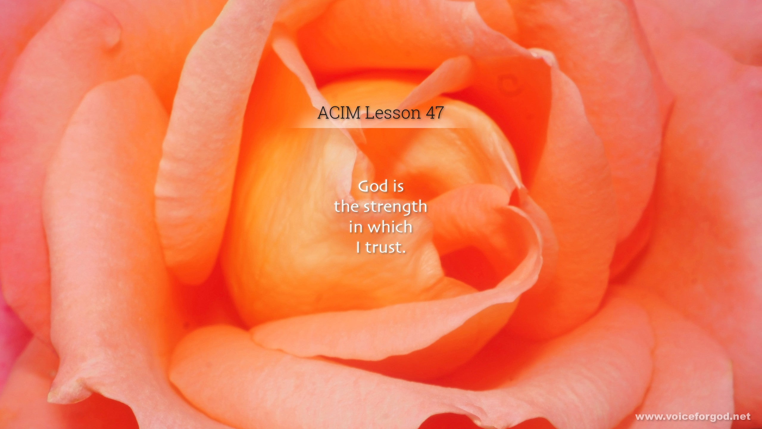ACIM Lesson 47 - A Course in Miracles Workbook Lesson 47