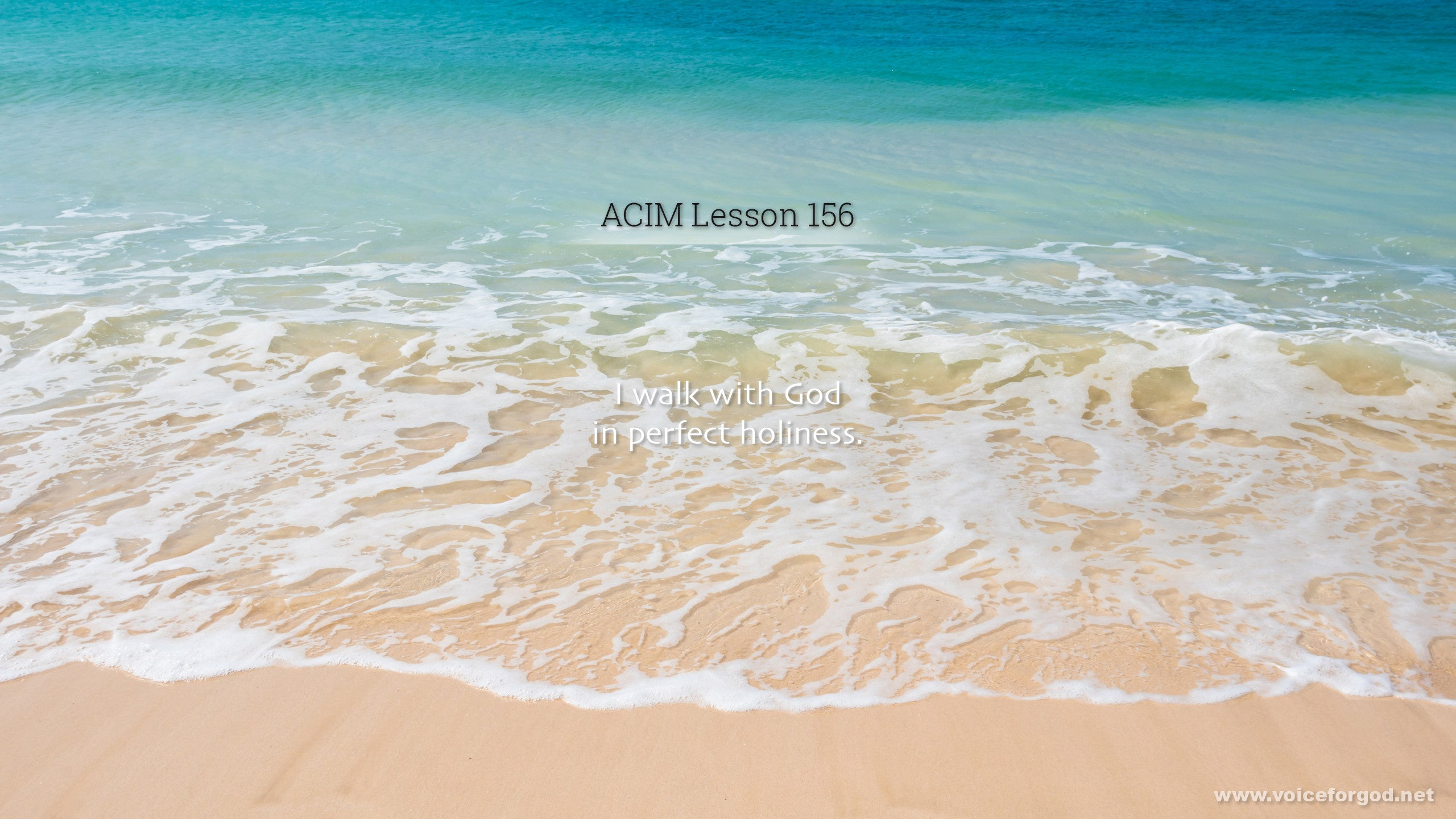 ACIM Lesson 156 - A Course in Miracles Workbook Lesson 156