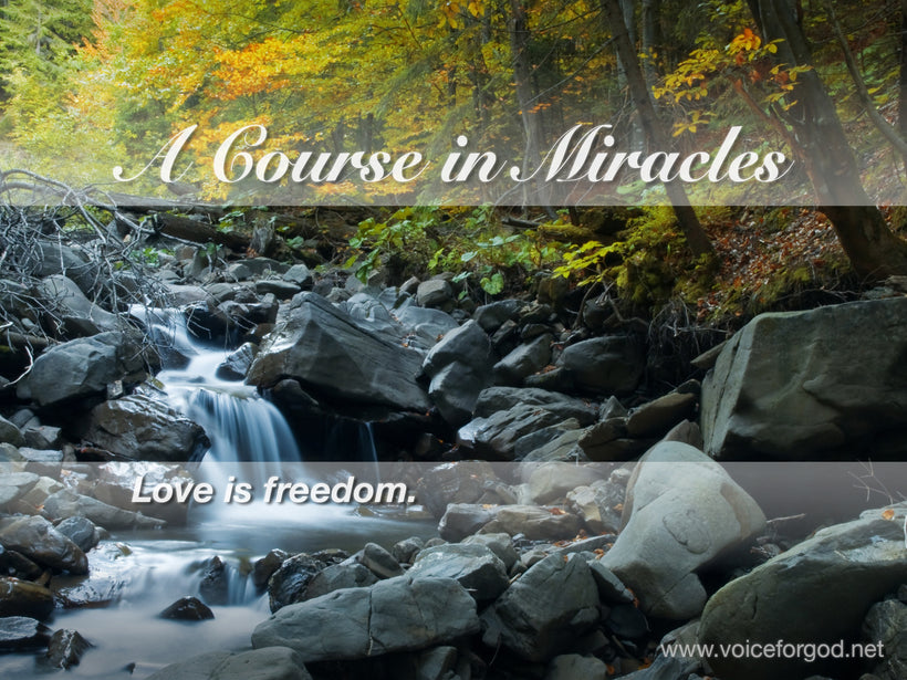 ACIM Quote 0004 A Course in Miracles Quotes