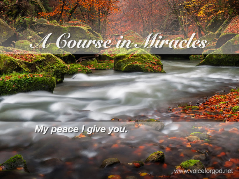 ACIM Quote 0008 A Course in Miracles Quotes