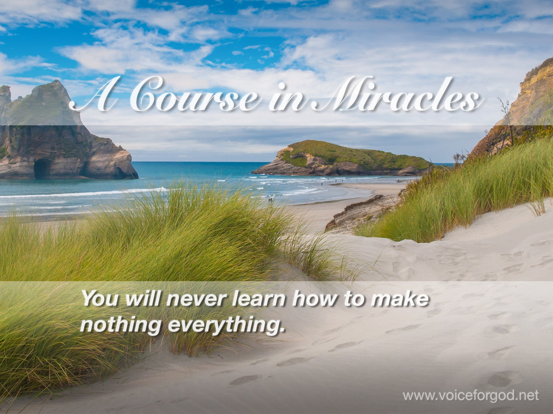 ACIM Quote 0318 A Course in Miracles Quotes