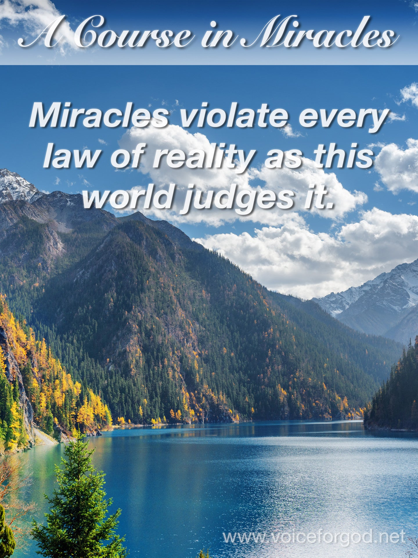 ACIM Quote 0430 A Course in Miracles Quotes