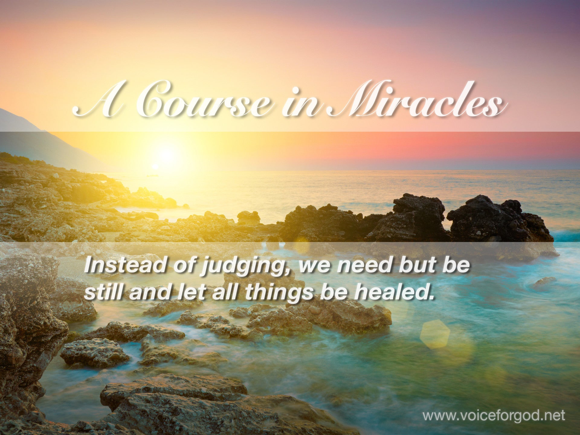 ACIM Quote 0519 A Course in Miracles Quotes