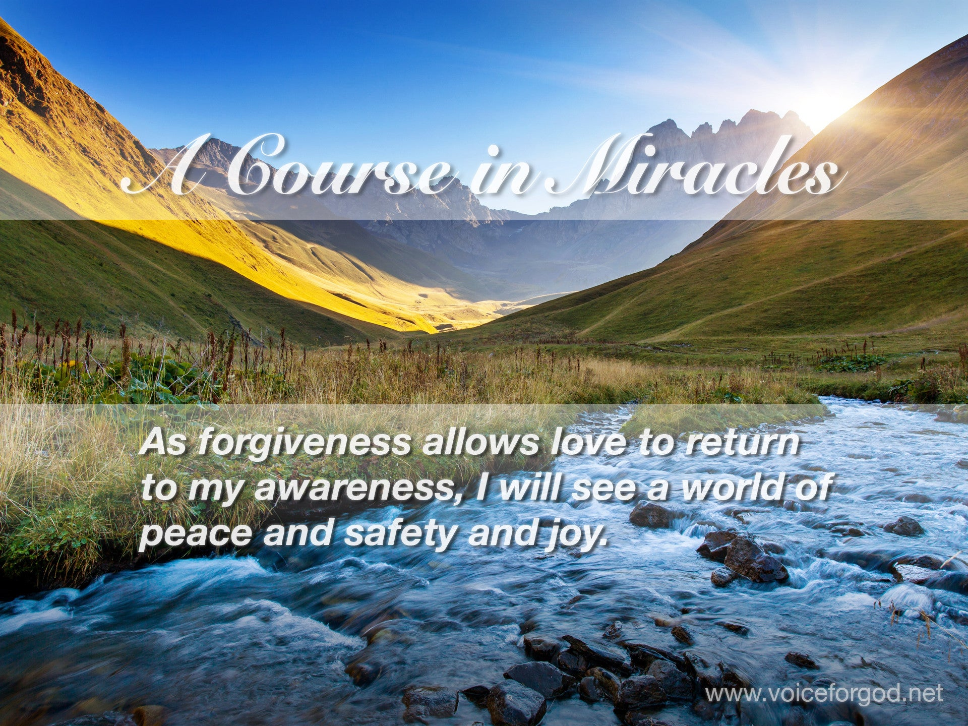 Acim Acim Quote 0710 A Course In Miracles Quotes Voice For God