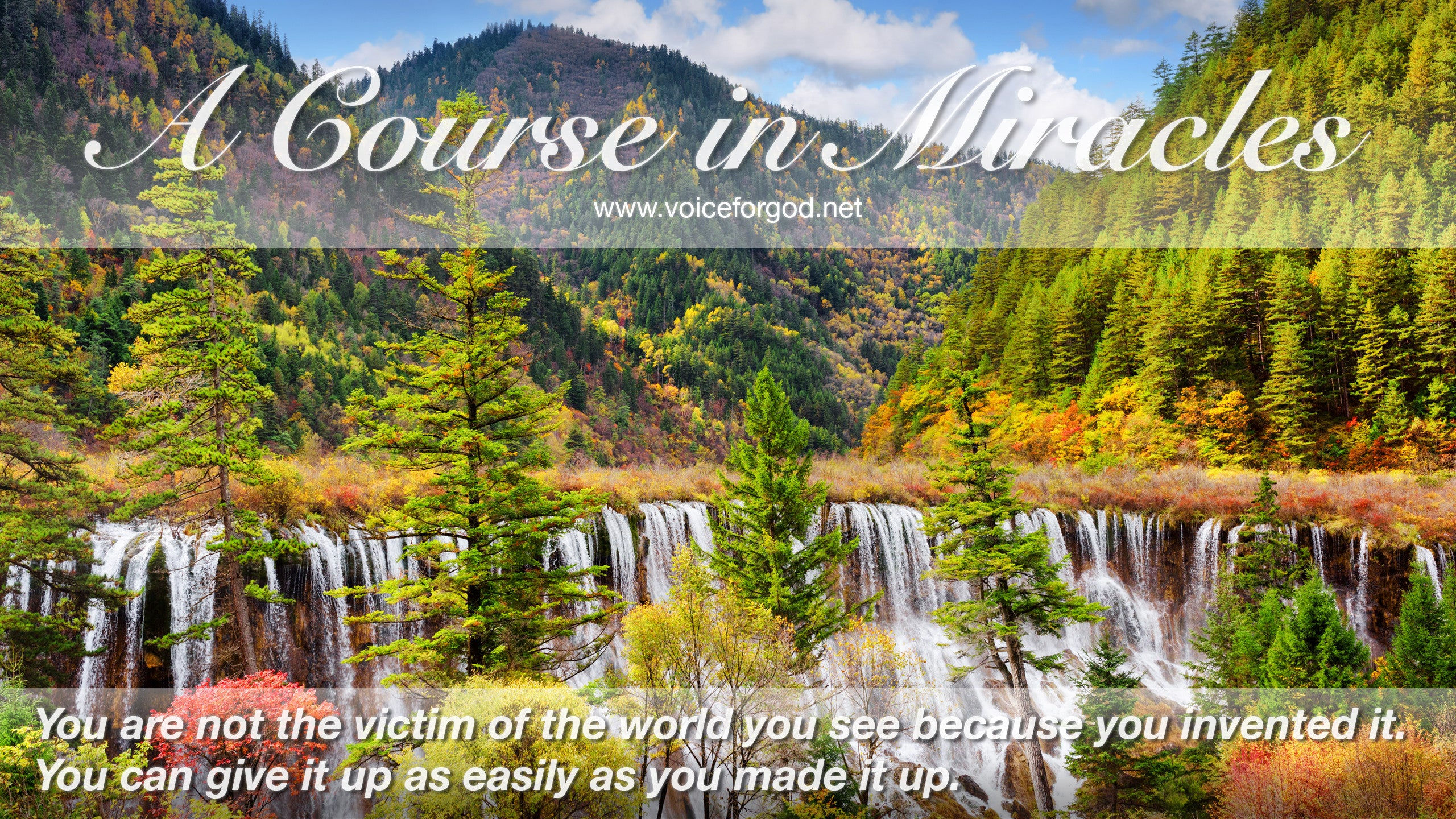 Acim Acim Quote 0766 A Course In Miracles Quotes Voice For God