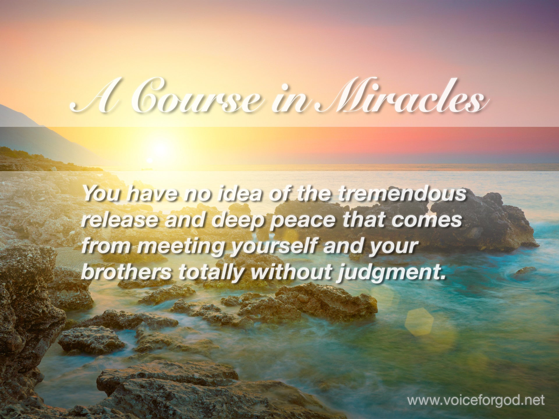 ACIM Quote 0819 A Course in Miracles Quotes