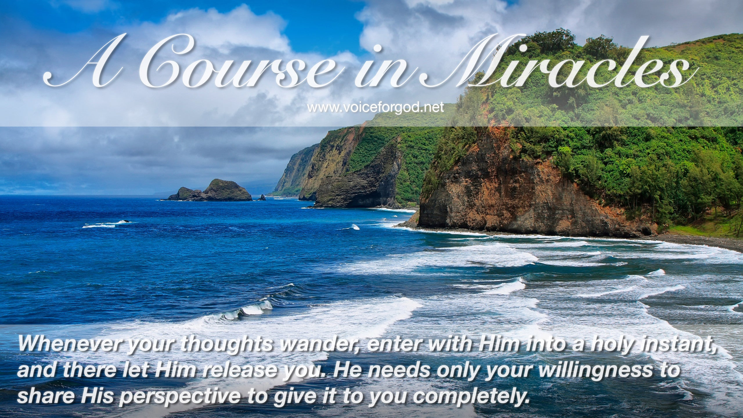 ACIM Quote 0916 A Course in Miracles Quotes