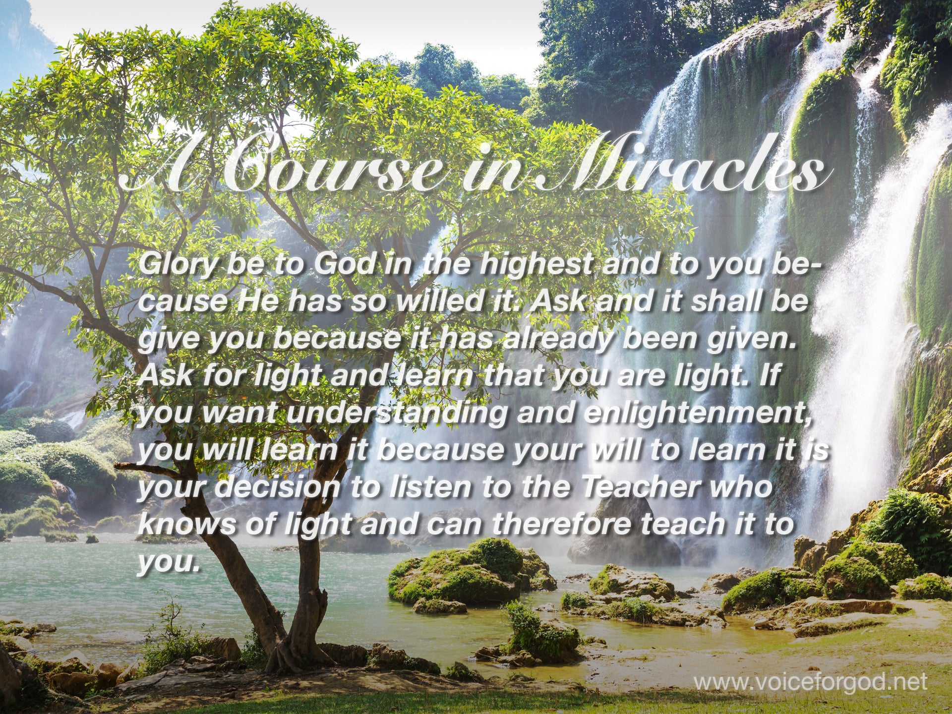 ACIM Quote 1007 A Course in Miracles Quotes