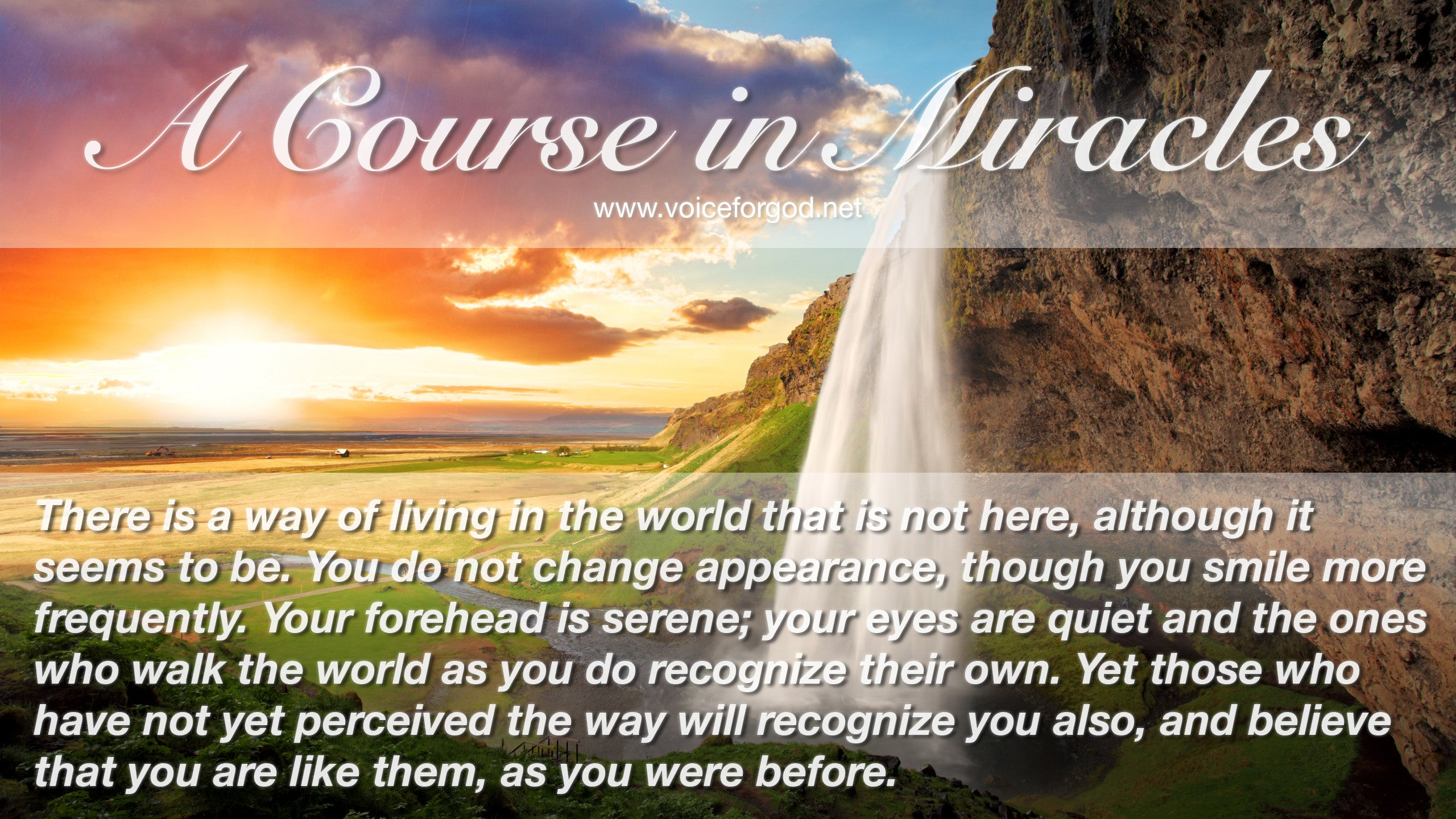 Acim Acim Quote 1014 A Course In Miracles Quotes Voice For God