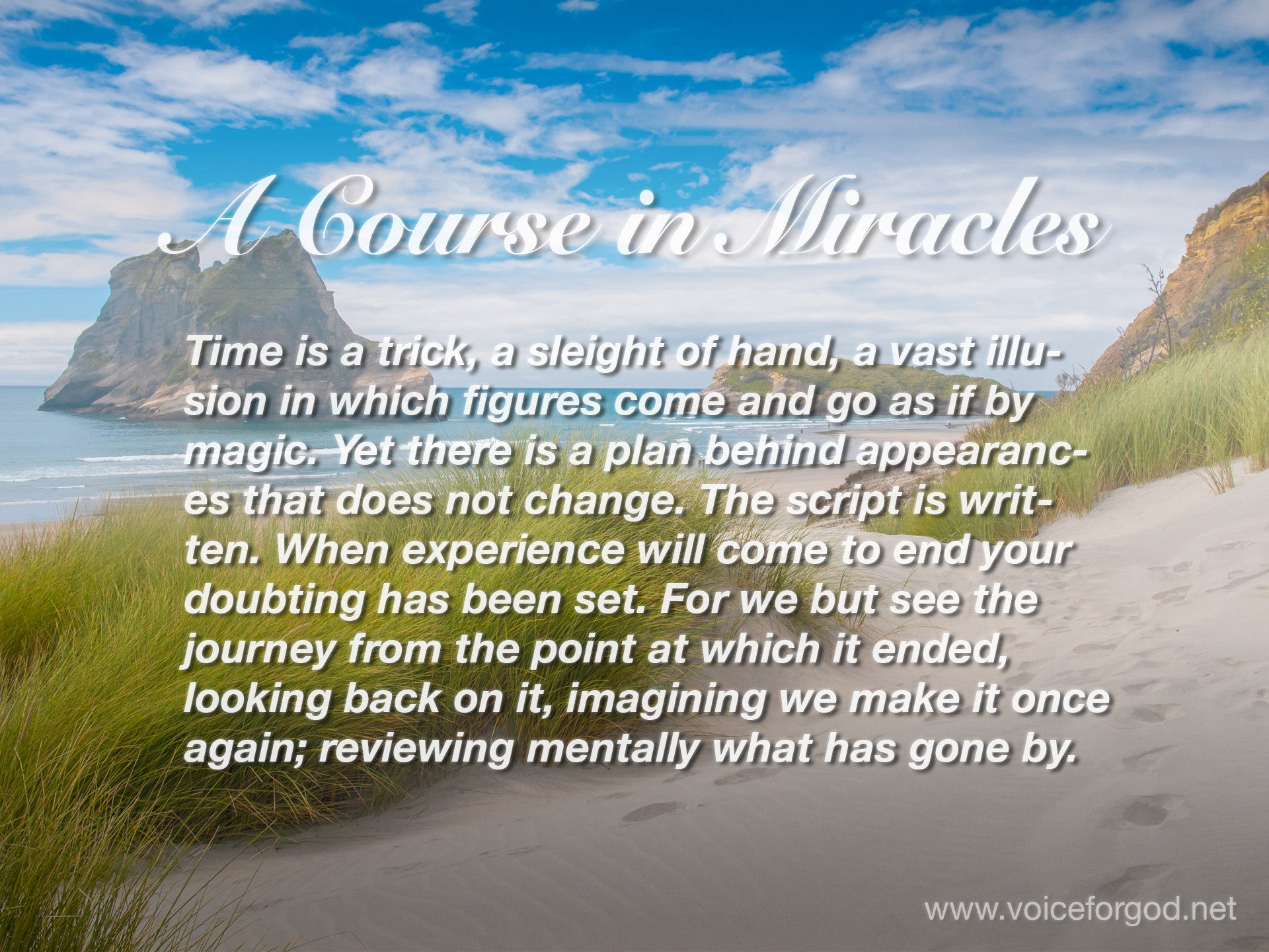 ACIM Quote 1018 A Course in Miracles Quotes