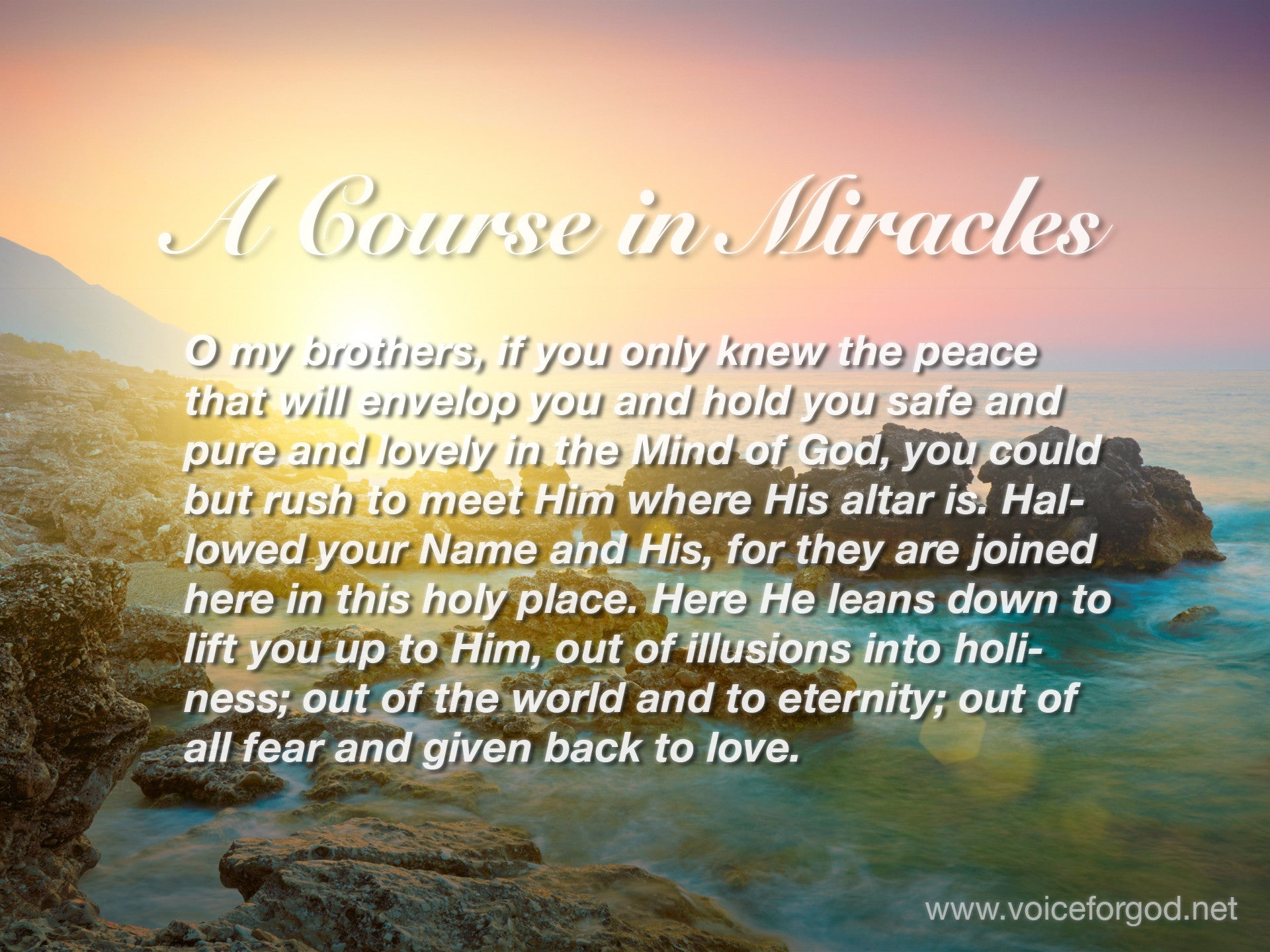 ACIM Quote 1019 A Course in Miracles Quotes