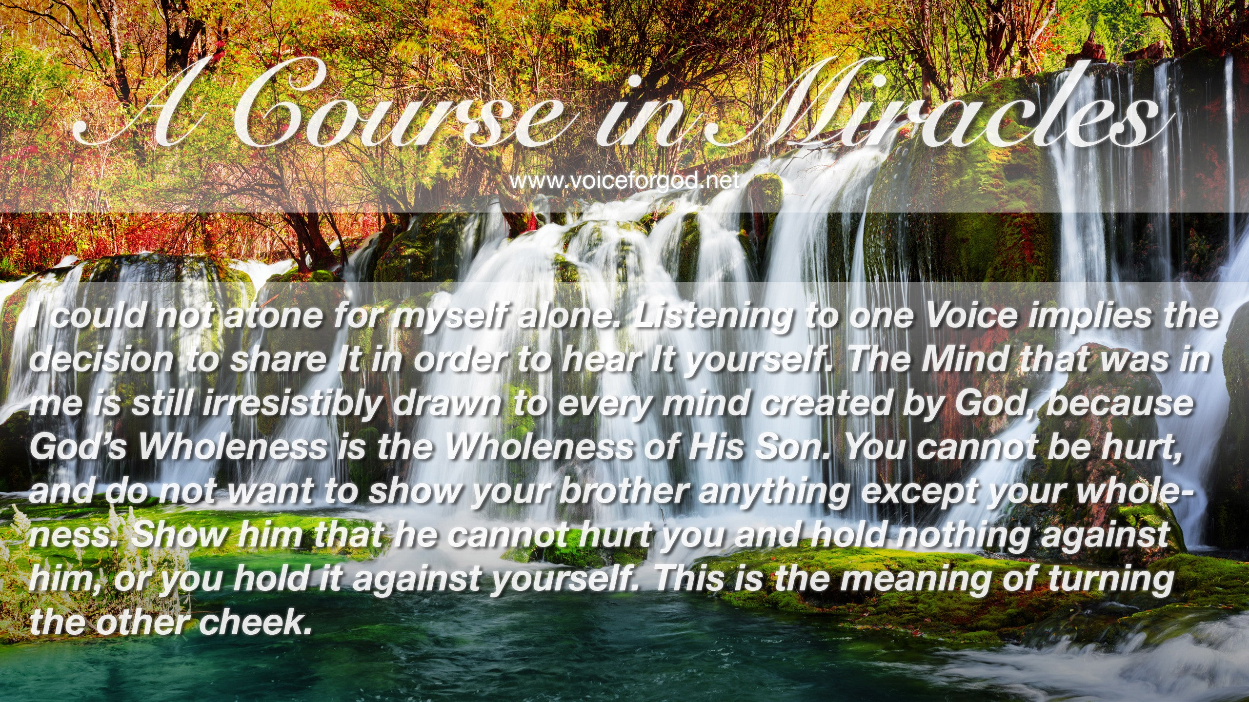 ACIM Quote 1037 A Course in Miracles Quotes