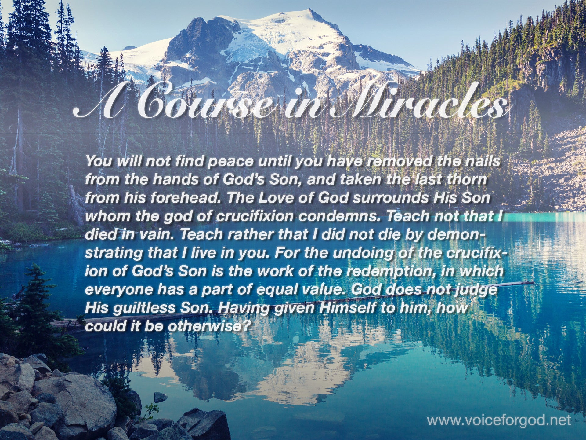 ACIM Quote 1045 A Course in Miracles Quotes