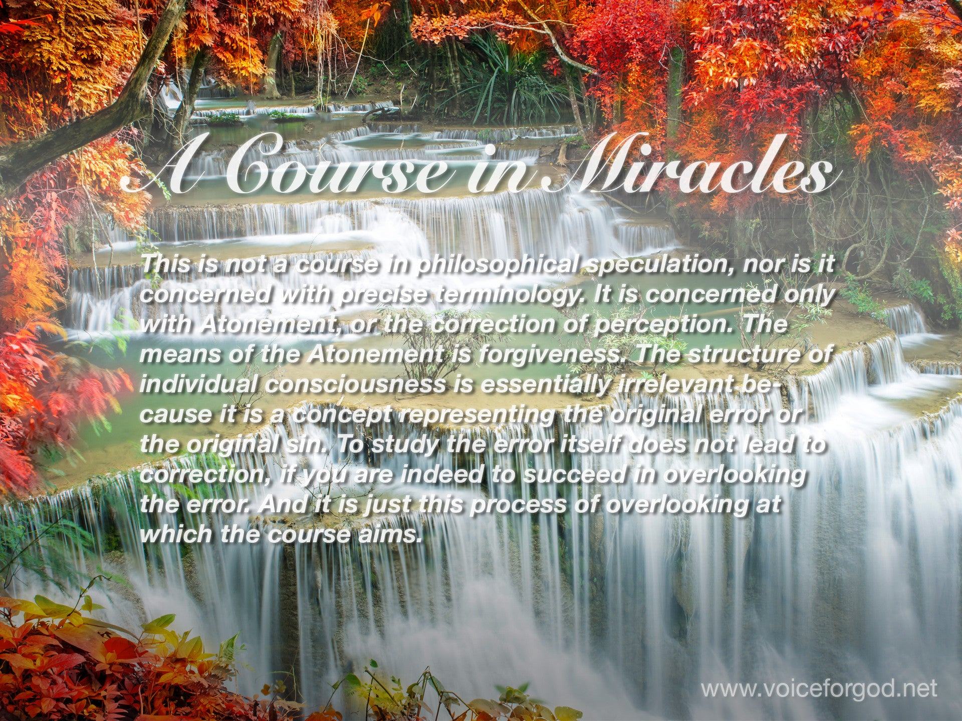ACIM Quote 1050 A Course in Miracles Quotes