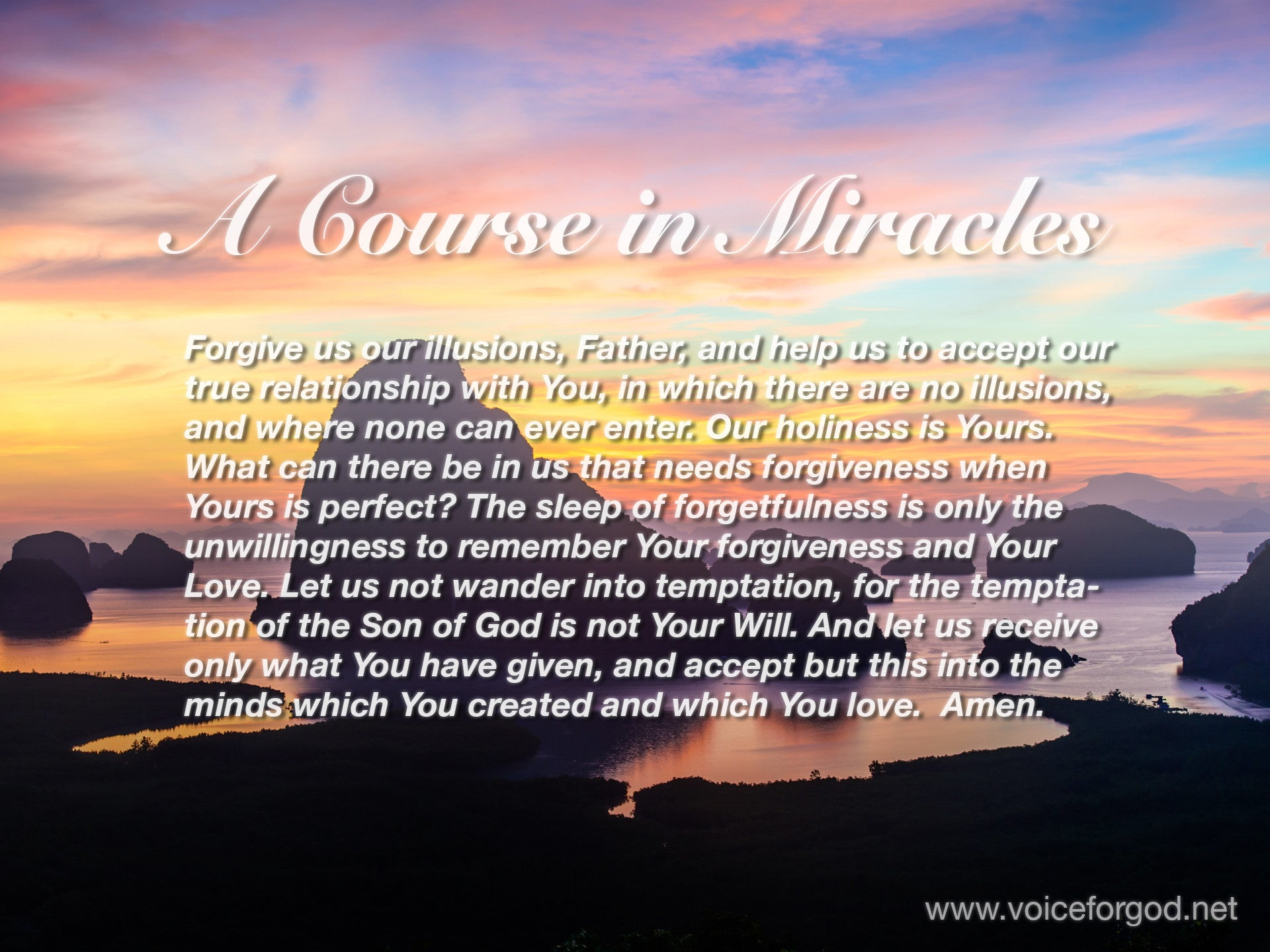 ACIM Quote 1054 A Course in Miracles Quotes